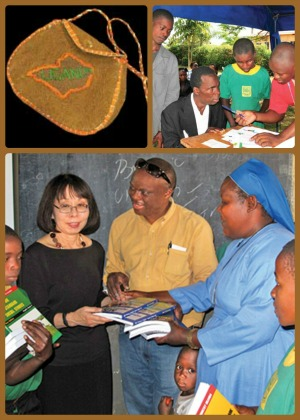 collage of Uganda event pix