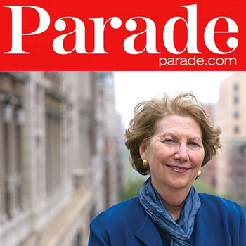 Dr. Shear with Parade Magazine logo