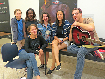 Children's Corps trainees, summer 2014, Social Work Building, NYC