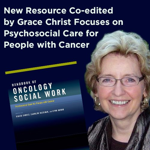 Prof Grace Crist & new cancer handbook