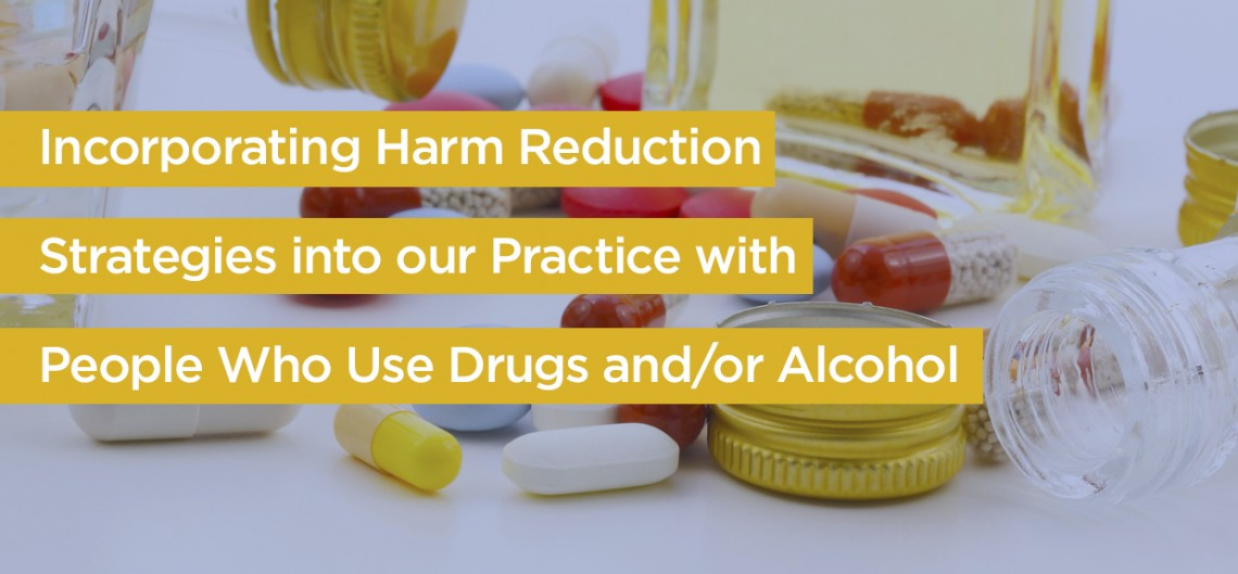 Harm Reduction Continuing Ed Workshop