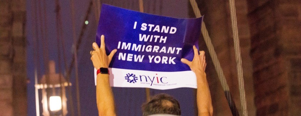 I stand with immigrant new york